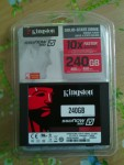 discoHD SSD now 300V kingston 240GB cve 6500