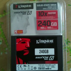 discoHD SSD agora 300V cve de 240GB kingston