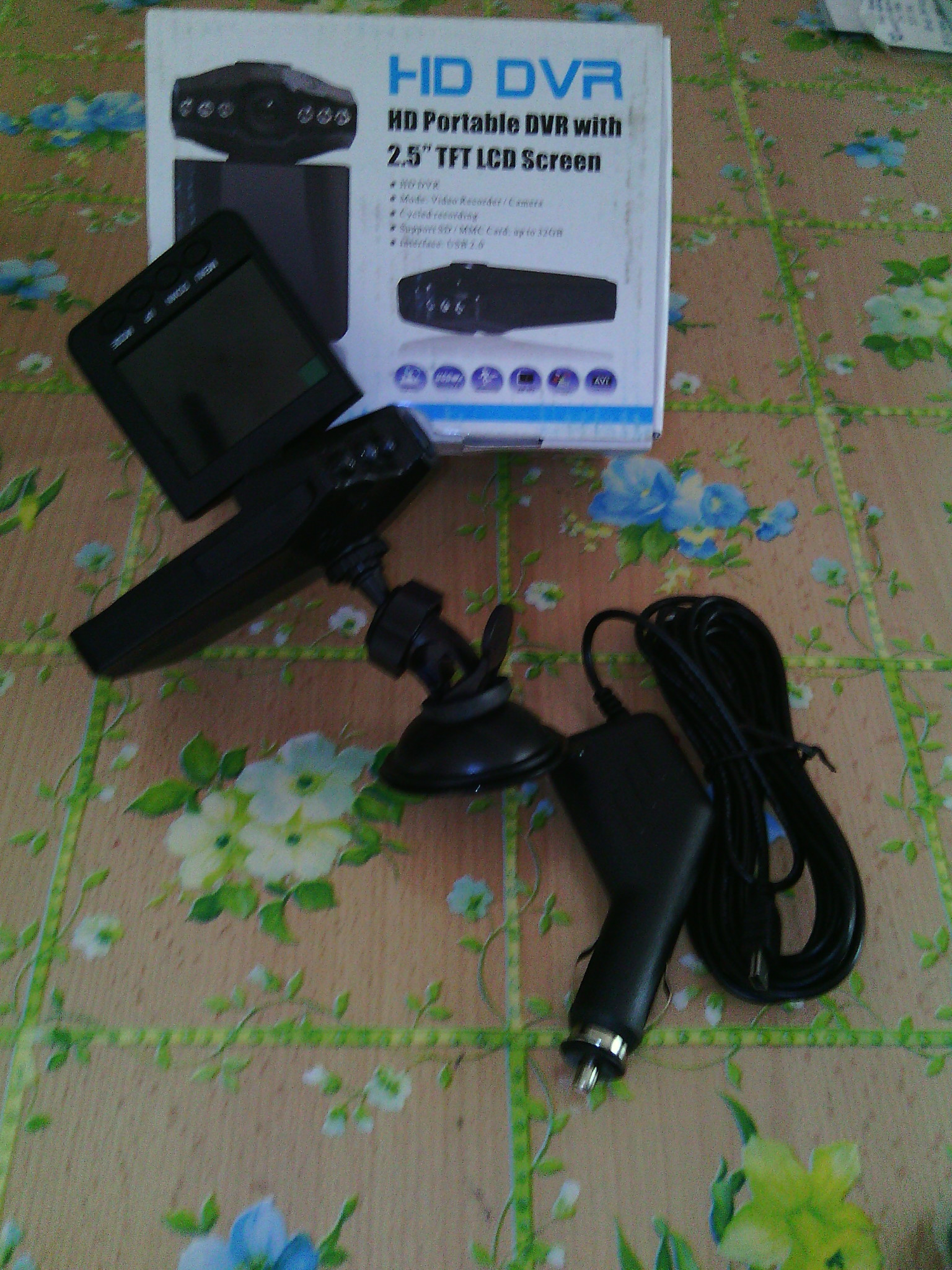 telecamera auto registra eeevai