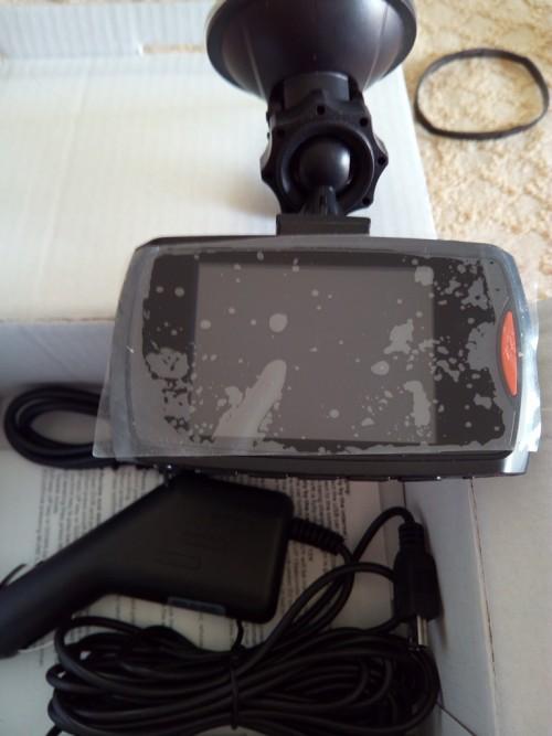 telecamera auto registra