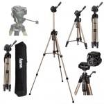Tripé para fotografia profissional HAMA Star 61 com bolsa altura 60 - 153 cm eeevai socapverd