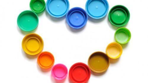 riciclo creativo + TAPPI + plastica